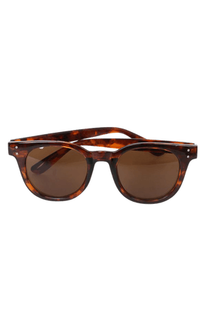 Cute Brown Sunglasses - Tortoise Sunglasses - Brown Sunnies - Lulus