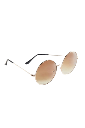Chandler Metal Round Sunglasses | Urban Outfitters