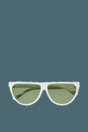 White Cat-eye acetate sunglasses | Loewe | NET-A-PORTER