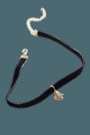 Velvet Charm Choker Necklace | Urban Outfitters