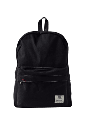BDG Canvas Backpack   Urban Outfitters