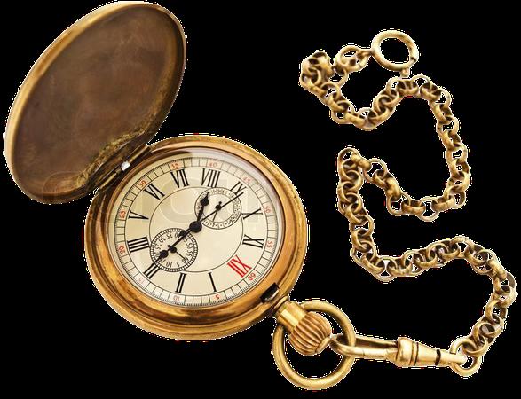 Victorian Gold Pocket Watch