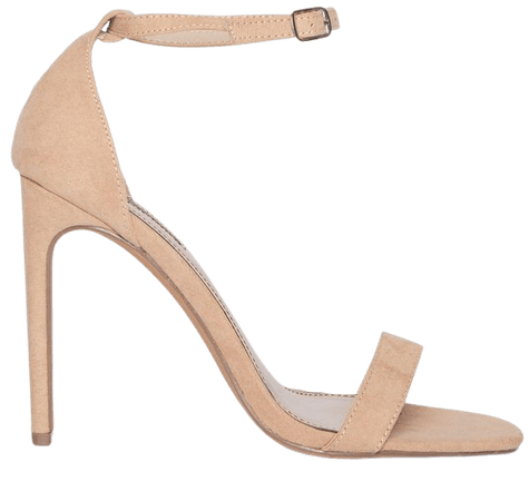 SALSA Nude Barely There Heeled Sandals   Miss Selfridge