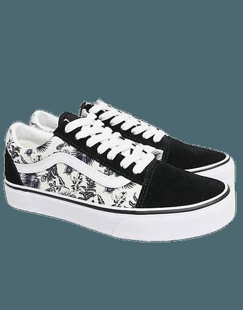 Vans Old Skool sneakers in black/purple | ASOS