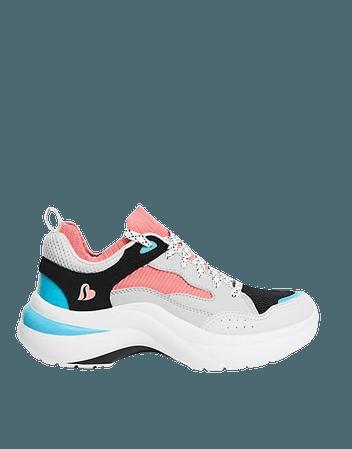 Skechers Solei Low sneakers in multi | ASOS