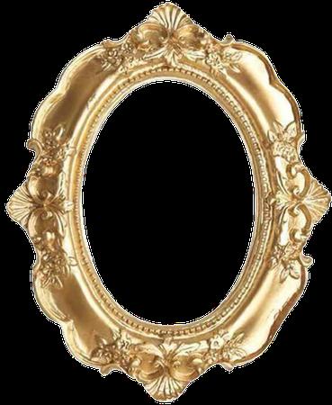 Amazon.com - BESPORTBLE Vintage Picture Frame Resin Golden Ornate Textured Oval Desktop Photo Frame Photo Holder Jewelry Display Frame Home Decoration -