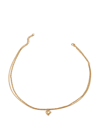 Heart Charm Necklace | SHEIN USA