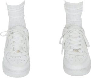 white sneakers shoes png