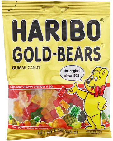 Haribo Gold-Bears Gummi Candy, 5 oz (142 g) — Yummy Bazaar