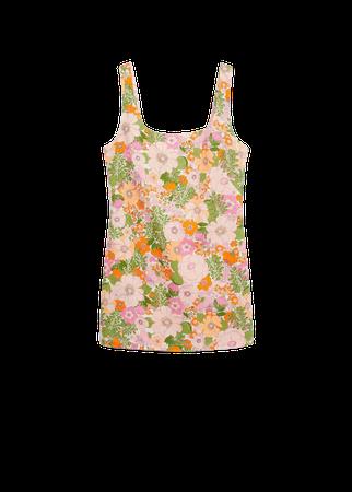 Floral print jumpsuit - Women | Mango USA