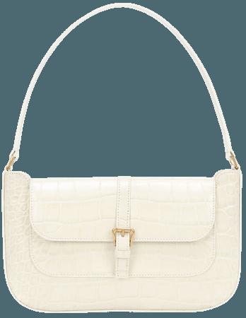 Miranda Leather Shoulder Bag - By Far | Mytheresa