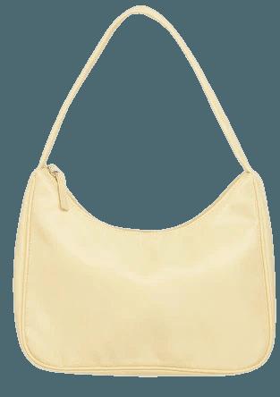 Shoulder bag - Light yellow - Bags - Monki WW
