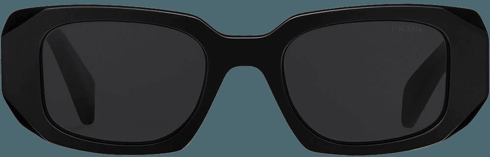 Shop black & black Prada Eyewear Prada Runway sunglasses with Afterpay - Farfetch Australia