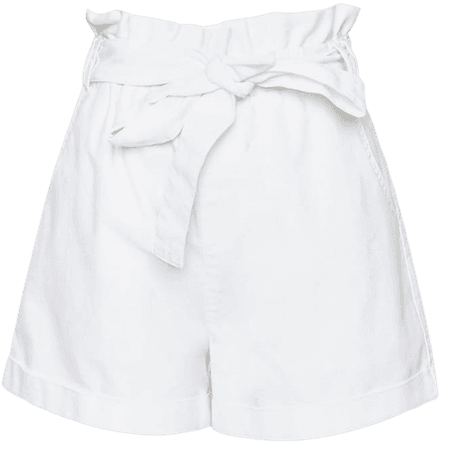 Paperbag Tie-Waist Shorts   Forever 21