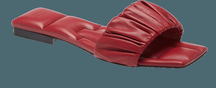Crete Square Toe Slide Sandal