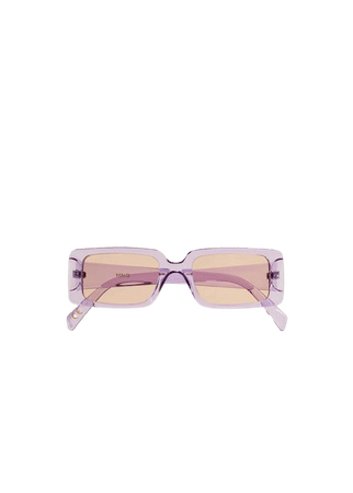Squared frame sunglasses - Woman | Mango Greece