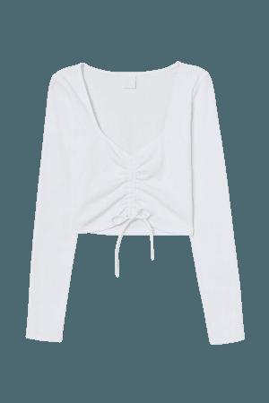 Crop Top - White