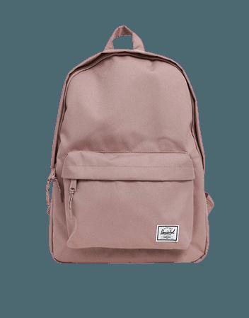 Herschel Supply Co Classic Light Mid Volume pink backpack | ASOS