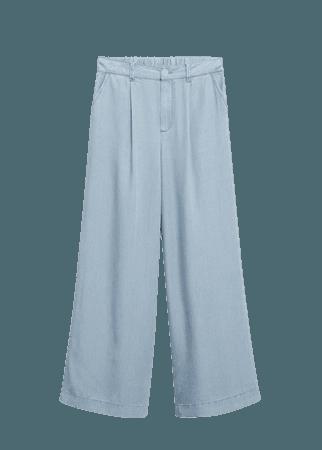 Darts lyocell trousers - Women   Mango USA
