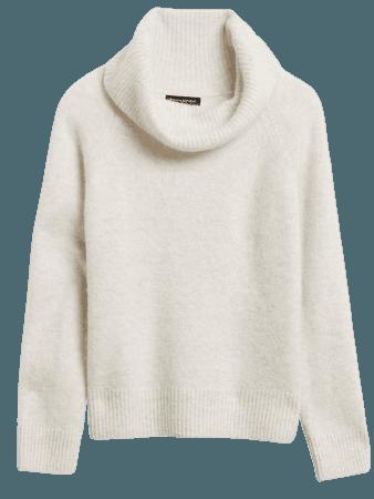 Cowl-Neck Sweater | Banana Republic