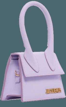 Jacquemus Le Chiquito Matte Leather Bag In Purple | ModeSens