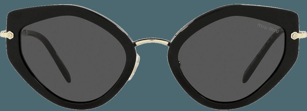 Shop Miu Miu Eyewear Artiste geometric-frame sunglasses with Express Delivery - FARFETCH