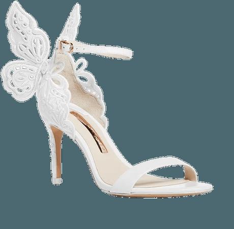 Sophia Webster Women's Chiara 100 Embroidered Butterfly High-Heel Sandals | Bloomingdale's