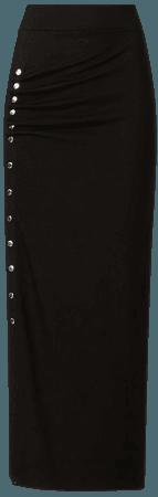 ALLSAINTS US: Womens Hatti Skirt (black)