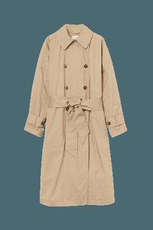 Cotton Trenchcoat - Beige