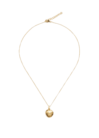 Pendant long necklace - Women | Mango USA