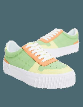 ASOS DESIGN Dekko sneakers in multi | ASOS