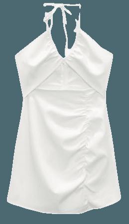 CUT OUT MINI DRESS | ZARA United States