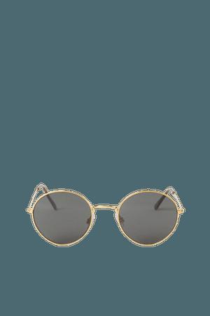 Sunglasses - Gold-colored - Ladies | H&M US