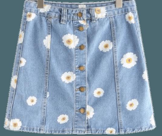 daisies skirt