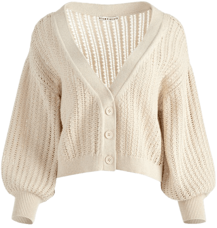 Winsor Slouchy Cardigan | Alice And Olivia