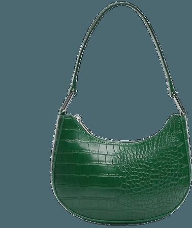 Shoulder bag with a mock croc finish - pull&bear