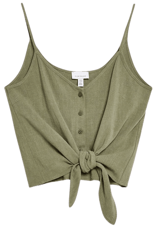 Tie Front Camisole Top - New In Fashion - New In - Topshop