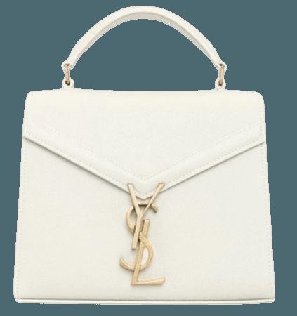 ysl white bag