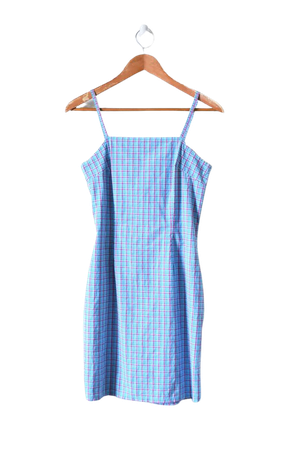 Vintage 90s Plaid Mini Dress | Urban Outfitters