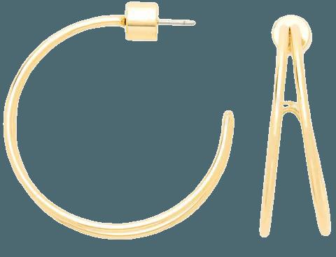 Wire Hoops – Draper James