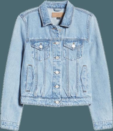 BLANKNYC Distressed Denim Jacket | Nordstrom
