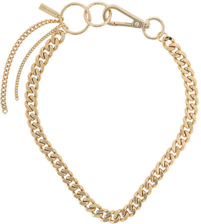 Coup De Coeur hoop linked chain necklace - FARFETCH