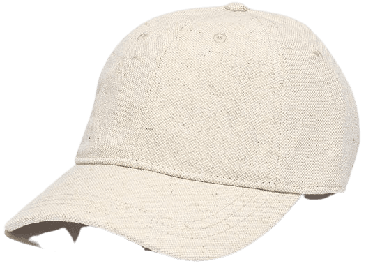 Cotton-Linen Baseball Cap