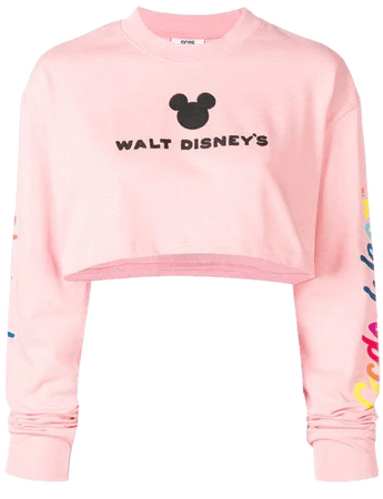 Gcds GCDS X Disney cropped hoodie $183 - Buy AW18 Online - Fast Global Delivery, Price