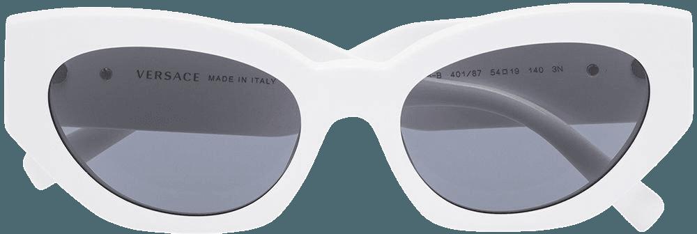 White Versace Eyewear cat-eye sunglasses - Farfetch