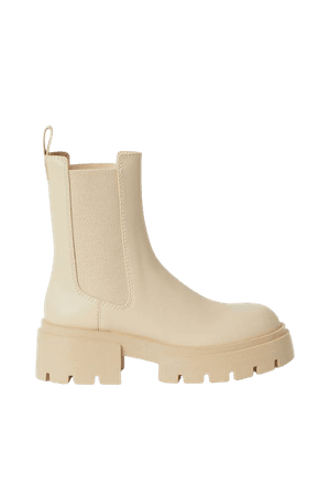 Platform Chelsea-style Boots - Light beige - Ladies | H&M US