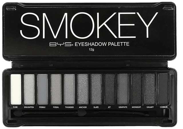 Smokey eyes palette