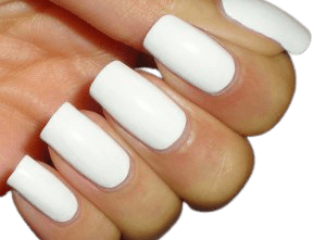 How to Paint White Nails   Nail Luxxe