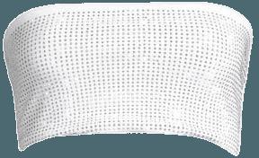 I.am.gia Aurora Embellished Bandeau Top In White Diamonte | ModeSens