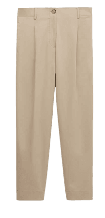 Darted jogging fit trousers - Women - Massimo Dutti